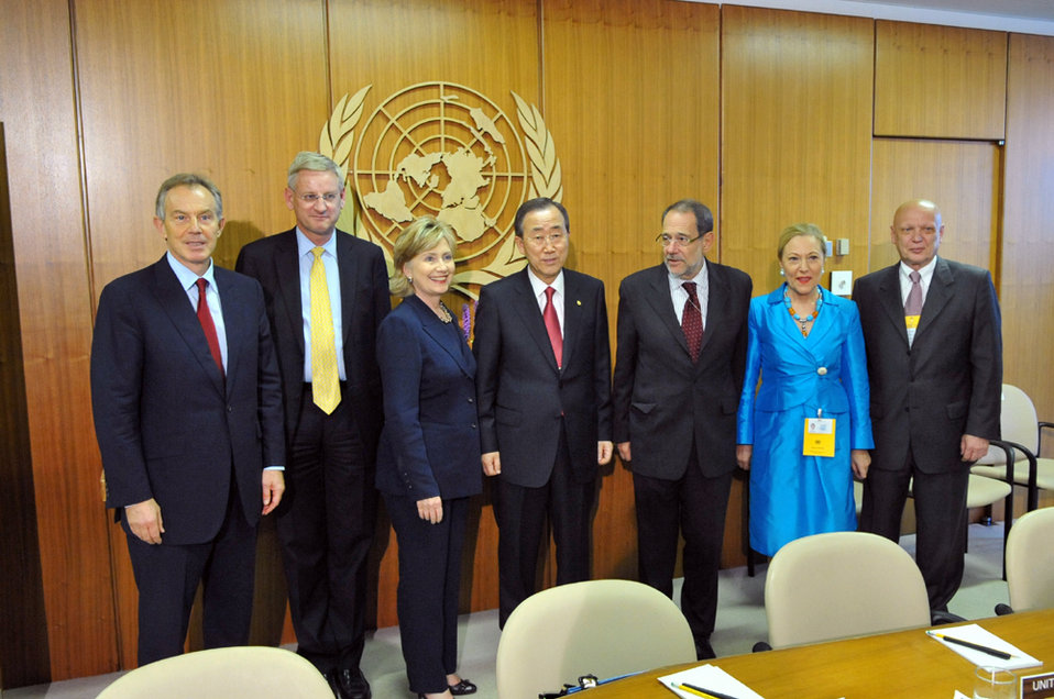 UNGA 2009: Quartet Meeting