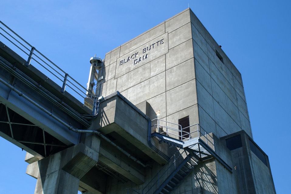 Black Butte Lake Dam