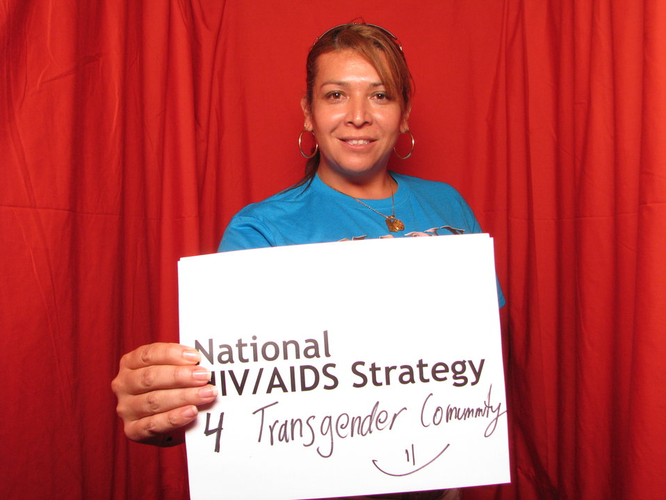 National HIV/AIDS Strategy 4 Transgender Community =)