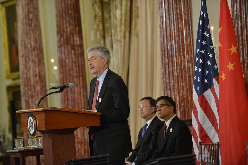 Deputy Secretary Burns Delivers Remarks at the U.S.-China EcoPartnerships Event