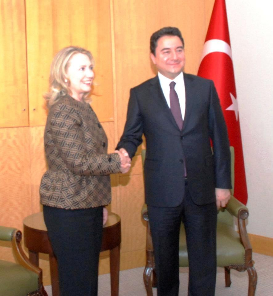 Secretary Clinton Meets With Turkish Deputy Prime Minister Babacan