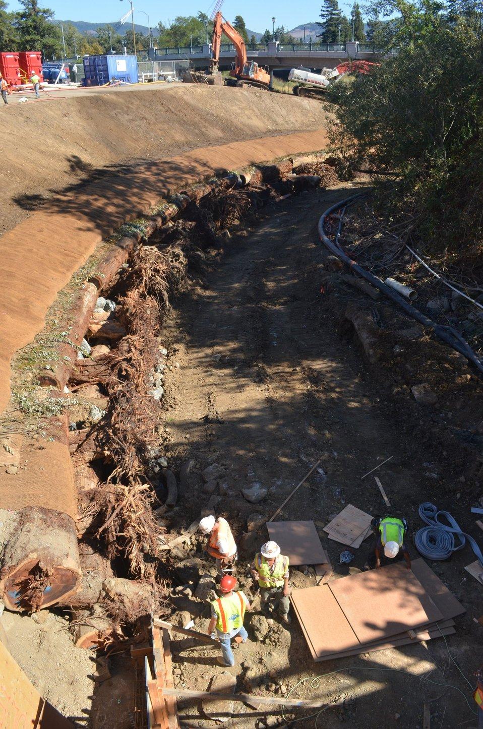 Napa flood risk reduction efforts
