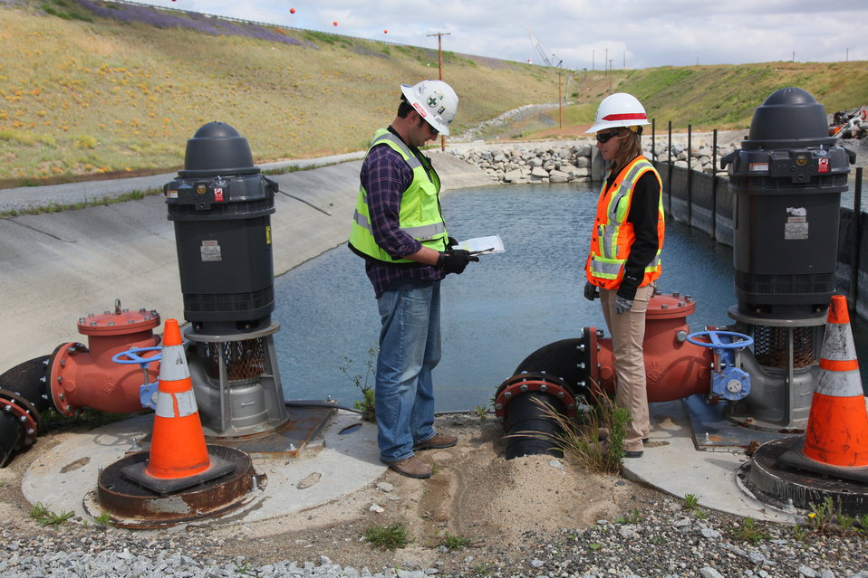 Storm water pollution prevention plan at the Folsom JFP auxiliary spillway