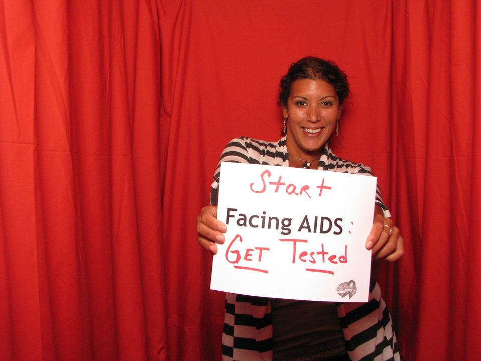 Start FACING AIDS: Get Tested.