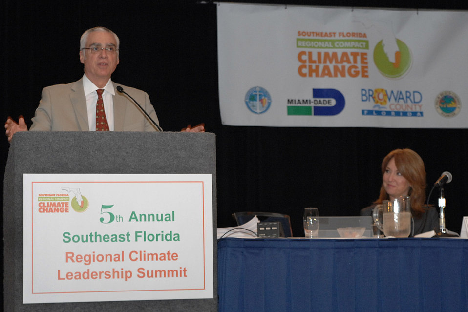 Deputy Administrator Perciasepe at Climate Change Summit