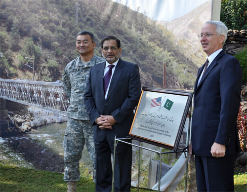 U.S.-Provided Bridges to Assist Flood Recovery in Khyber Pakhtunkhwa