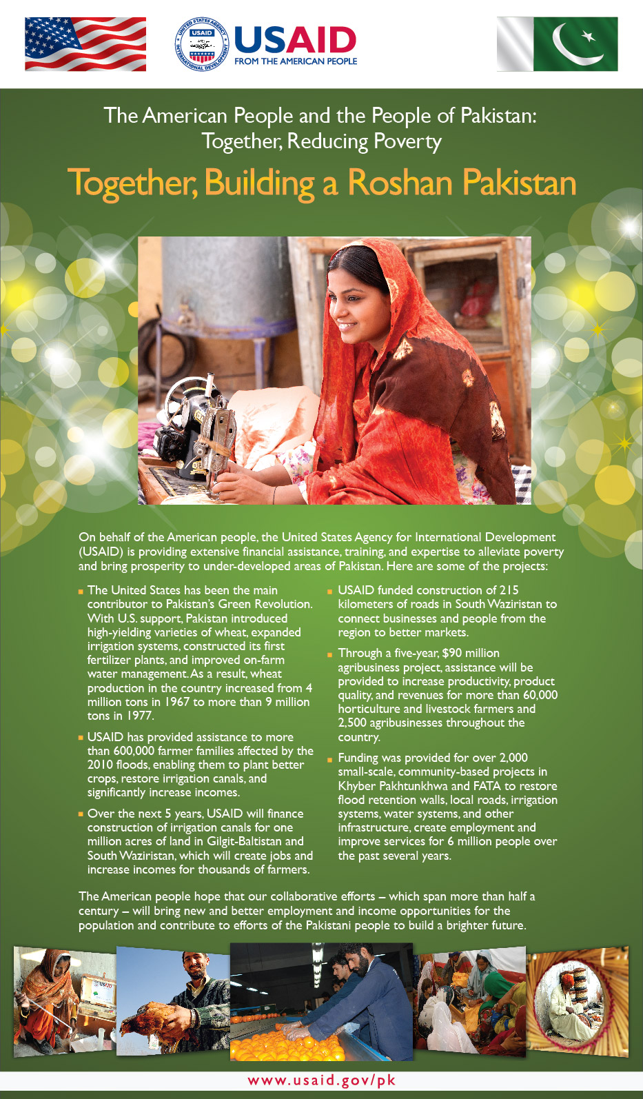 Together, Reducing Poverty in Pakistan