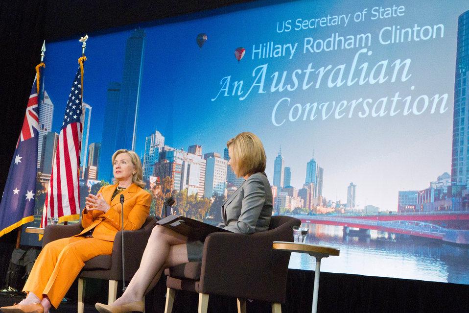 Secrerary Clinton Responds to Questions