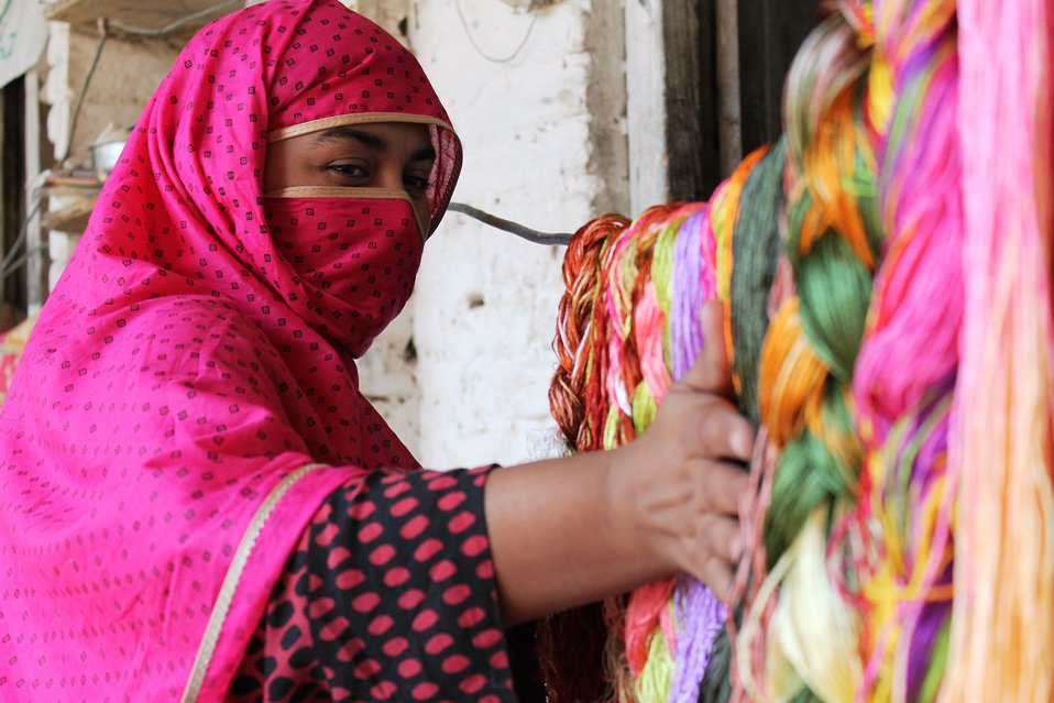 Embellished Fabrics Value Chain Development Initiative under the USAID's Entrepreneurs Project