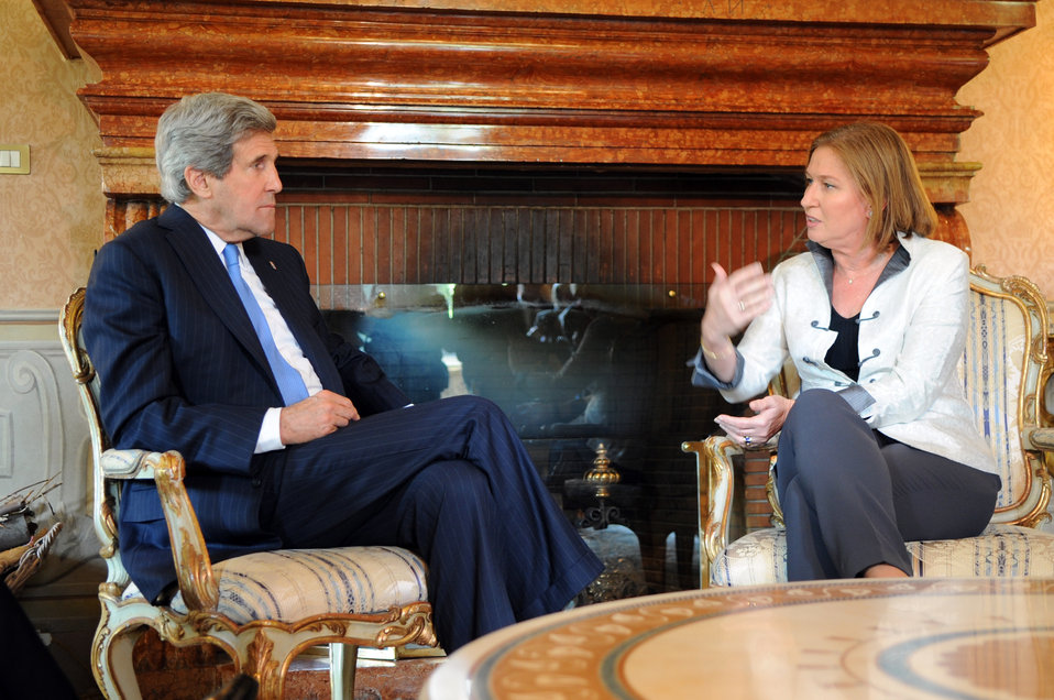 Secretary Kerry Meets With Israeli Justice Minister Livni