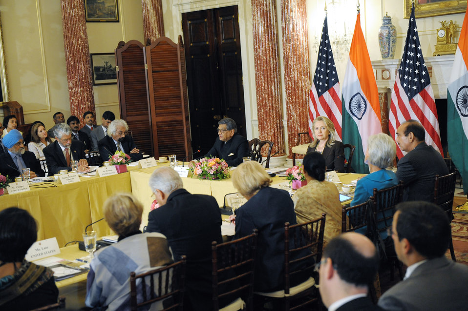 Secretary Clinton Delivers Remarks at the U.S.-India Strategic Dialogue