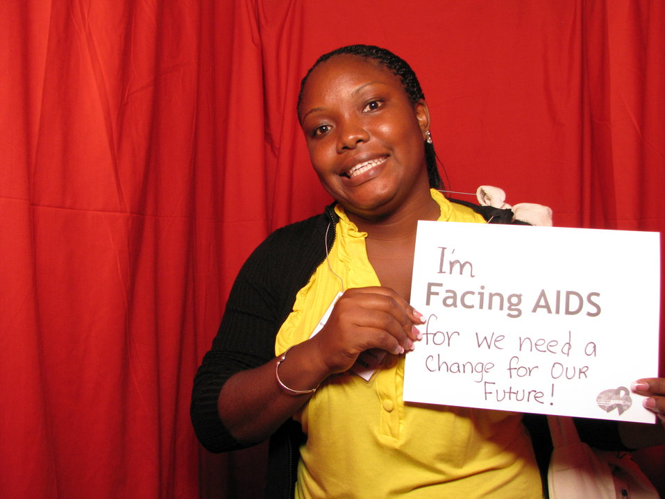 I'm FACING AIDS for we need a change for our future!