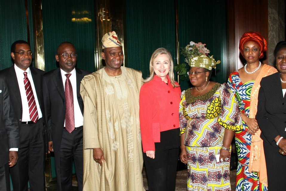 Secretary Clinton Meets With Nigerian Ministers