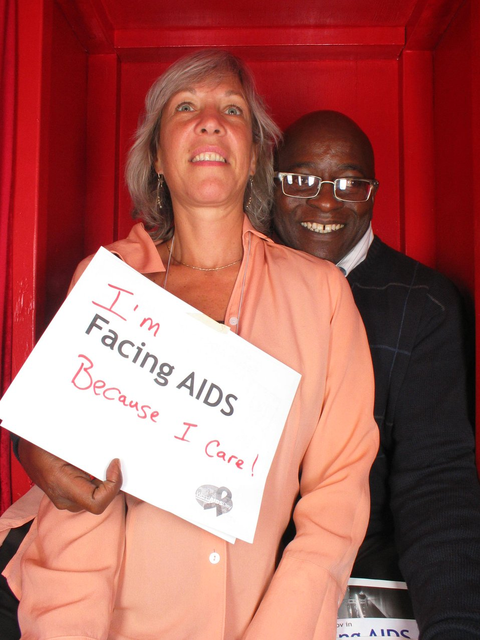 I am Facing AIDS because I care!