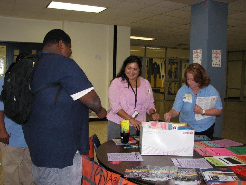 La Marque High School's NDFW event