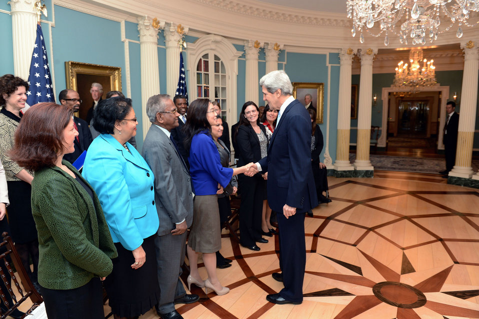Secretary Kerry Discusses His Commitment to a Diverse Workforce