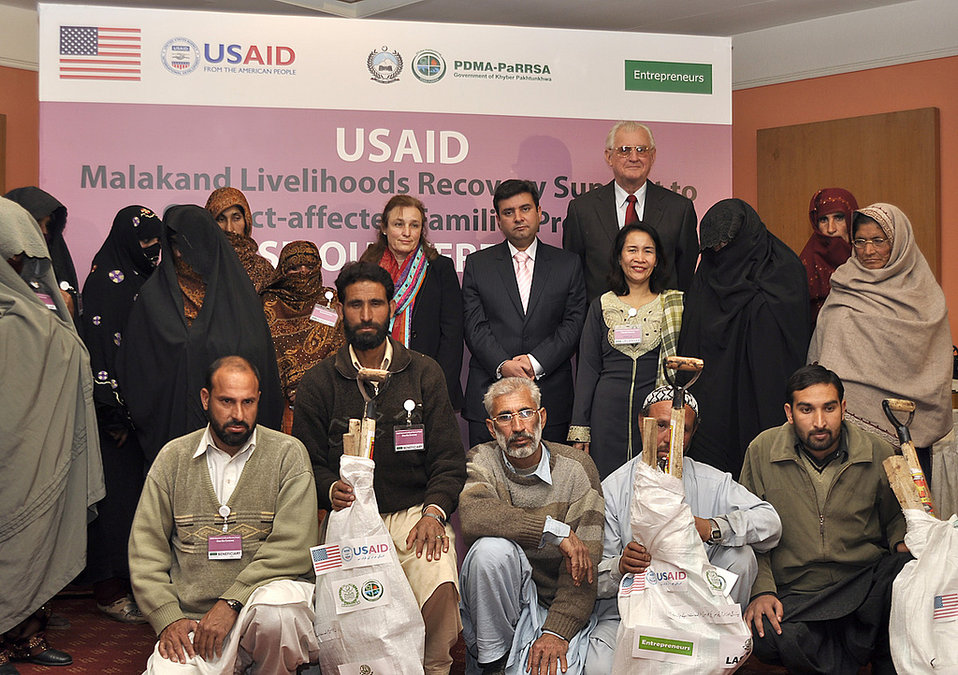 USAID's Malakand Livelihoods Recovery Support to Conflict-affected Families Project