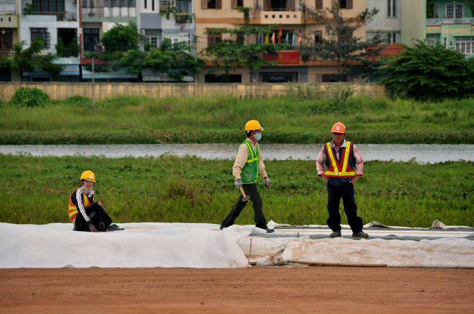Site Preparation for Environmental Remediation of Dioxin Contamination at Danang Airport