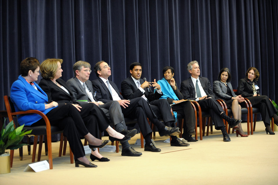 USAID Administrator Shah Participates in the Town Hall