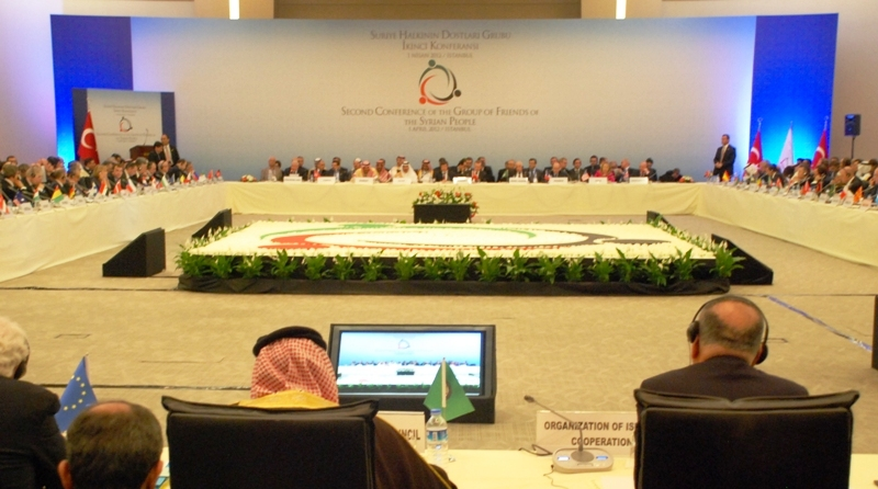 Friends of the Syrian People Meeting in Turkey