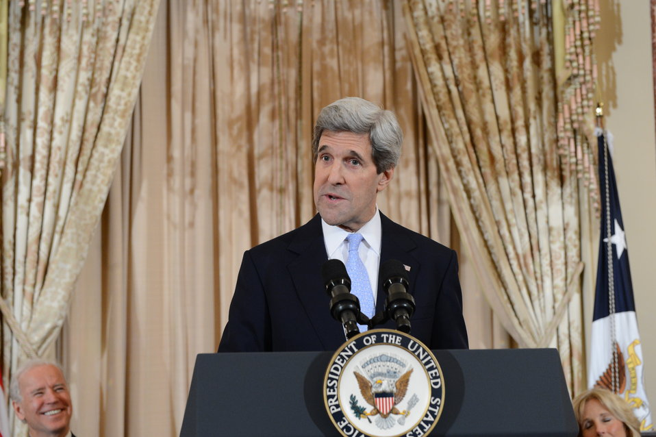Secretary Kerry Delivers Remarks
