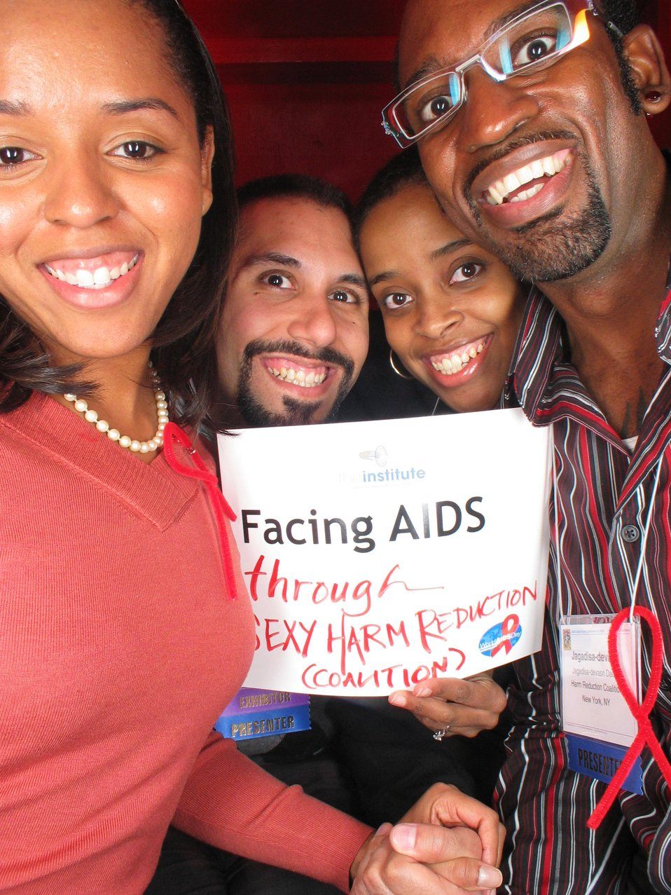 Facing AIDS through sexy harm reduction.