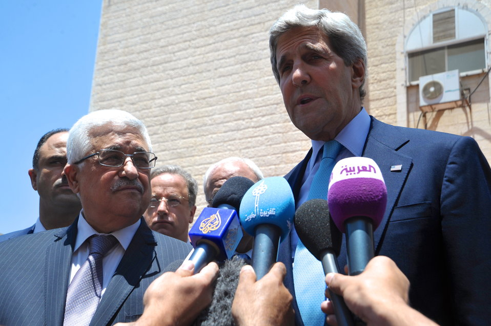 Secretary Kerry Addresses Media in Ramallah
