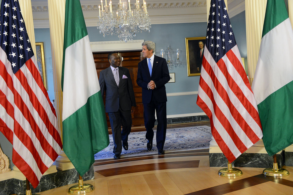 Secretary Kerry Meets With Nigerian Foreign Minister Ashiru