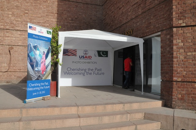 Inauguration point at Alhamra Art Gallery