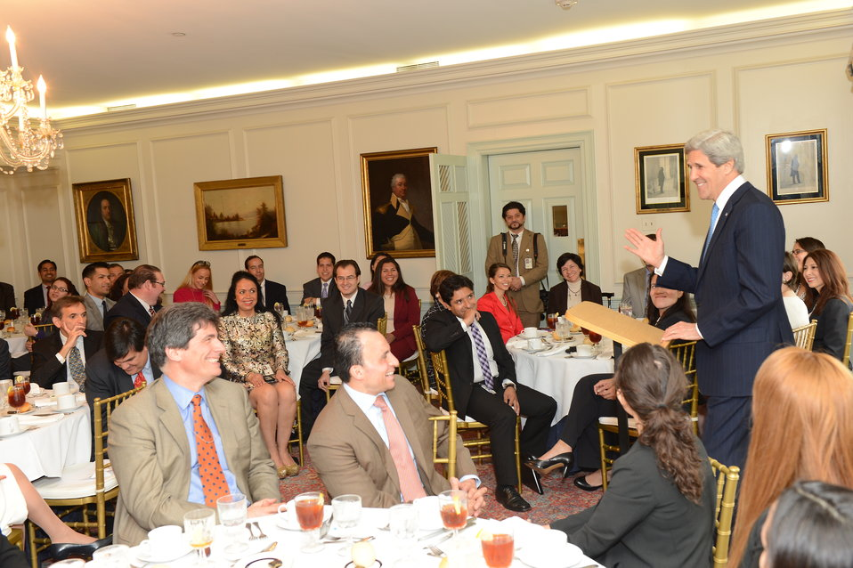 Secretary Kerry Delivers Remarks at the Hispanic Employees Council of the Foreign Affairs Agencies Luncheon