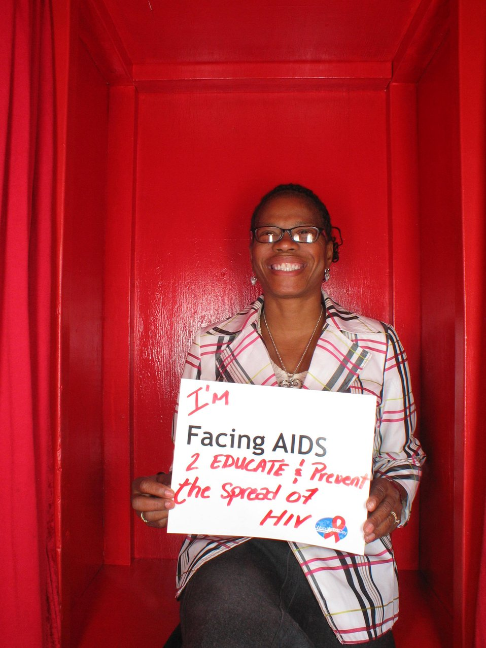 I'm Facing AIDS 2 educate and prevent the spread of HIV