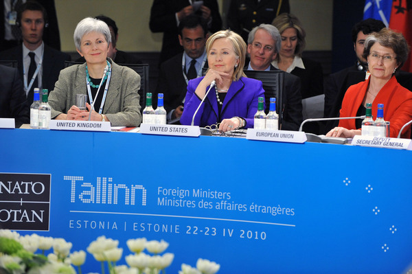 Secretary Clinton Participates in the NATO Foreign Ministers Meeting