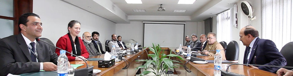 USAID delegation led by Melissa Knight meeting with the officials of Lahore Electric Supply Company (LESCO).