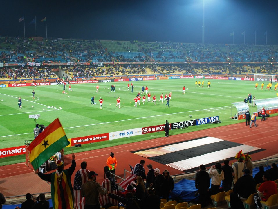 U.S. Plays Ghana in World Cup Match