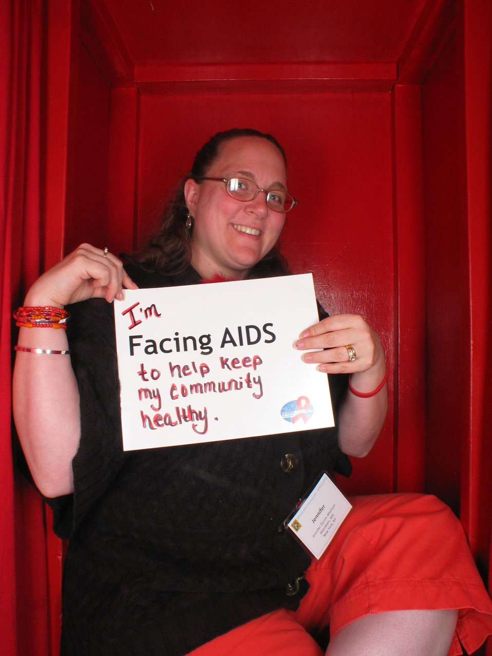 I'm Facing AIDS to help keep my community healthy.