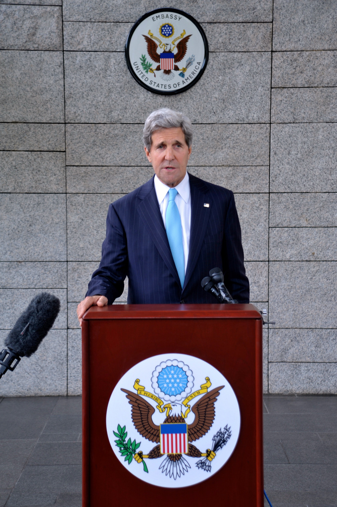 Secretary Kerry Makes Syria Statement During Press Conference