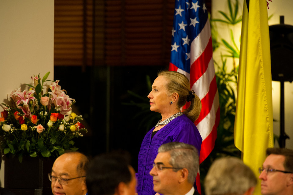 Secretary Clinton at the U.S.-ASEAN Business Forum and Dinner