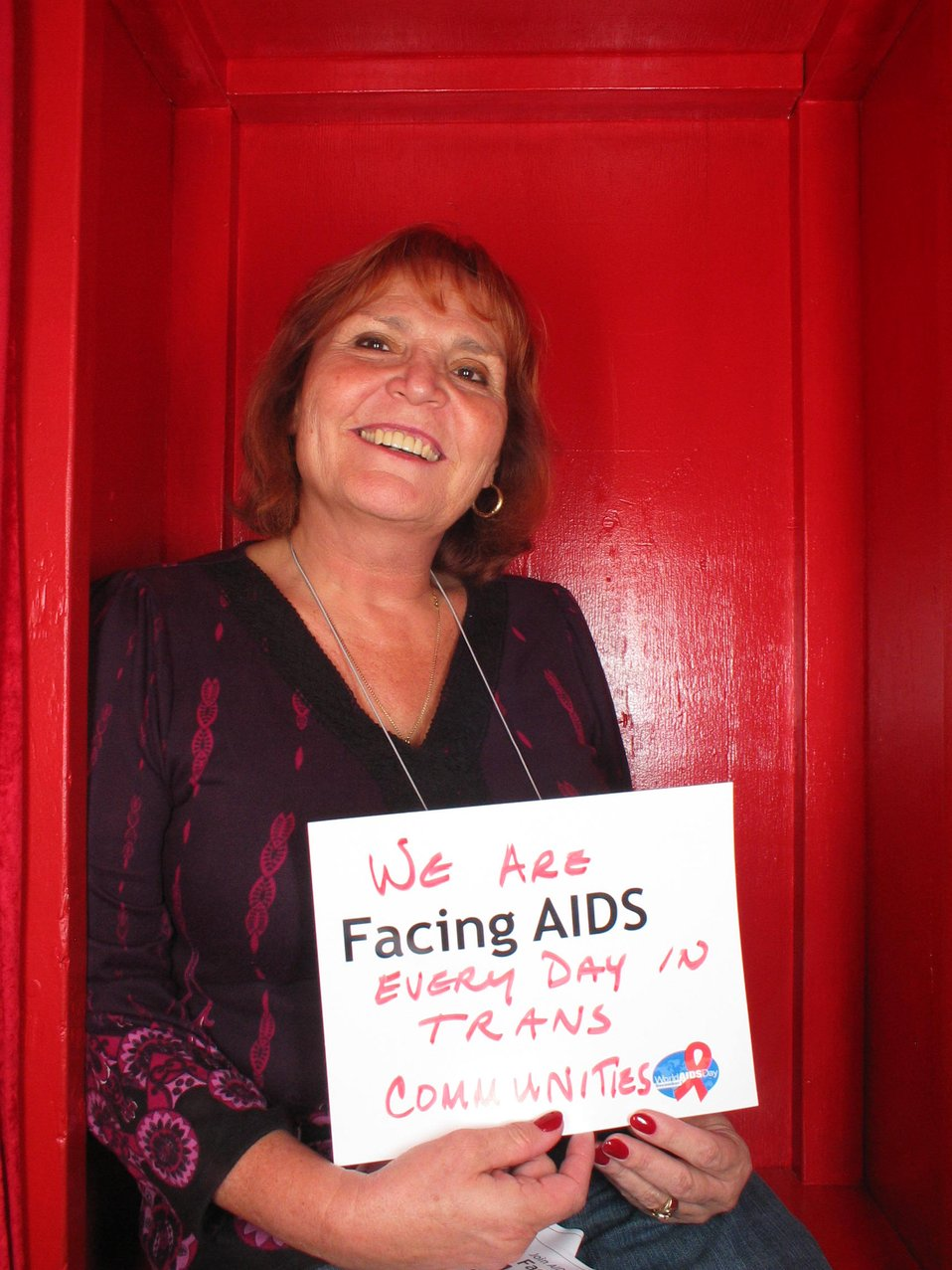 We are Facing AIDS everyday in trans communities