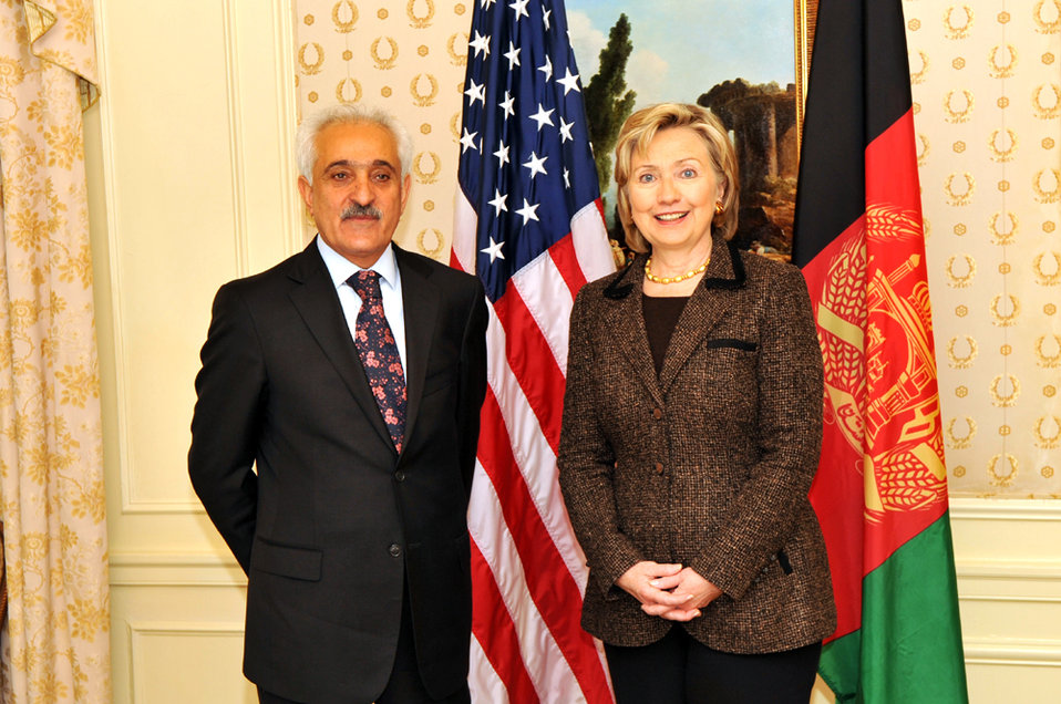 UNGA 2009: Secretary Clinton Meets With Afghan Foreign Minister