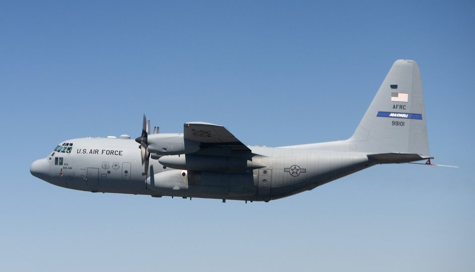 C-130 AMP flies for first time