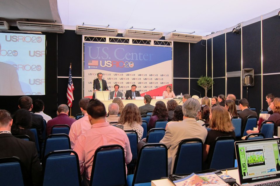 A Panel Participants Discusses Sustainability
