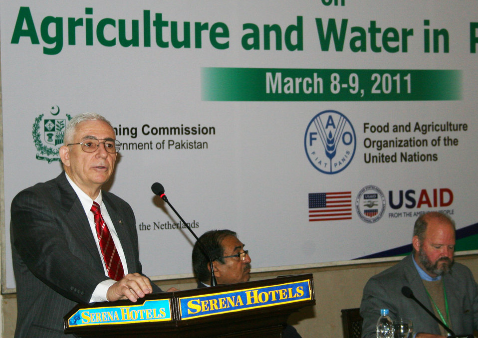 Roundtable Discussion on Agriculture and Water in Pakistan