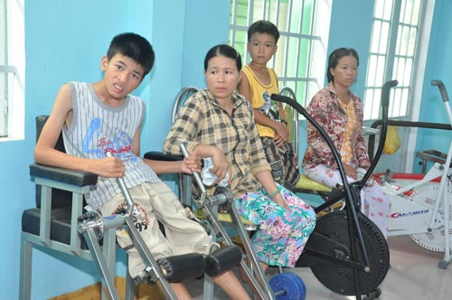 USAID-supported Hao Vang District Health Center, Danang