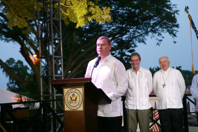 July 4th Celebration at U.S. Embassy in the Dominican Republic