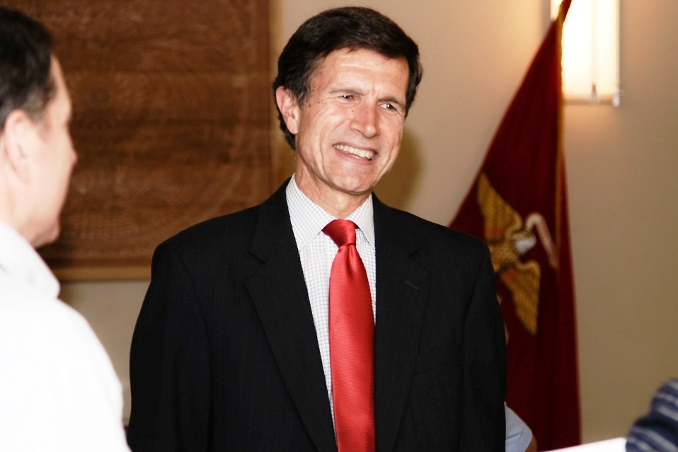 Assistant Secretary Blake Speaks With Tajiks