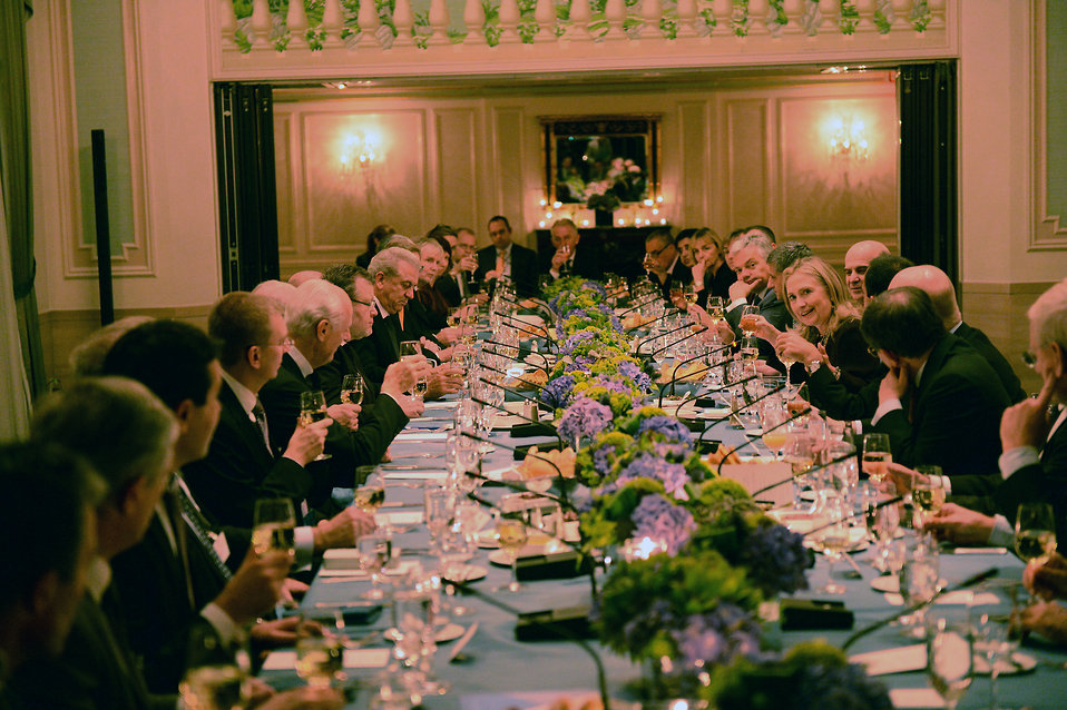 Secretary Clinton Hosts the Trans-Atlantic Dinner