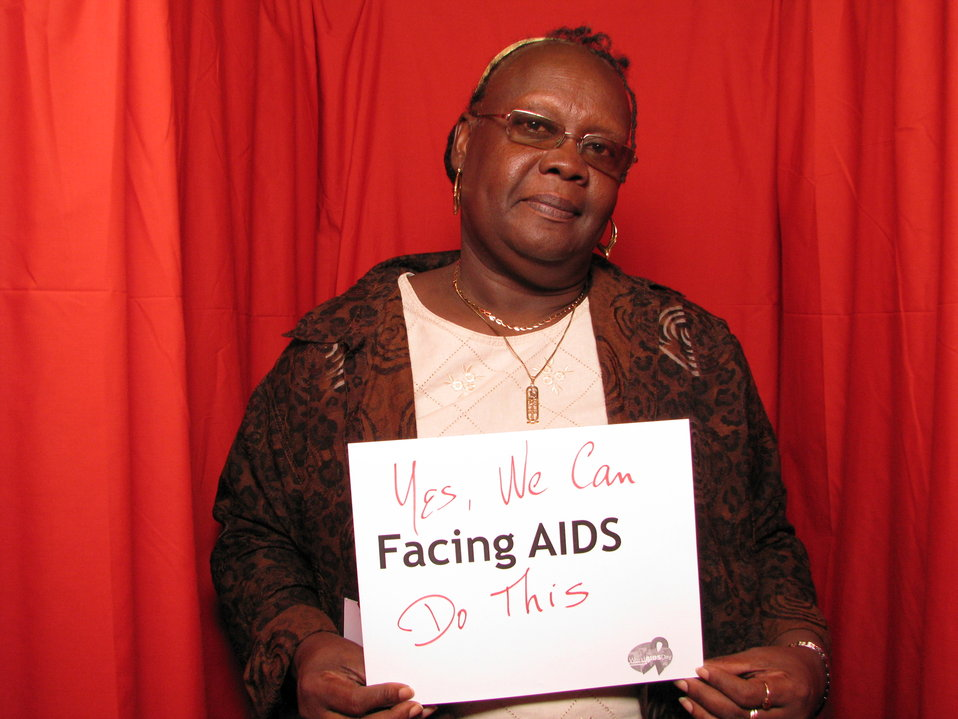 Yes, We Can, FACING AIDS. Do this.