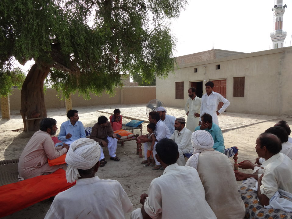 Caption 4 - Damaan - Vehari - Focus Group Discussion