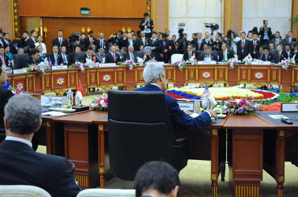 Secretary Kerry Participates in East Asia Summit