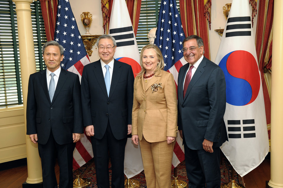Secretary Clinton Delivers Remarks at the U.S.-Korea Ministerial Dialogue 2 2